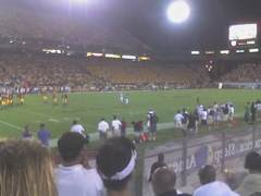 A shot of Sun Devil Stadium during the Nevada-ASU game