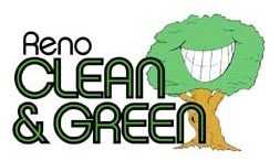 The clean and green logo
