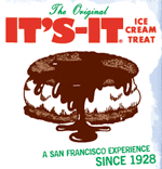 The It's It ice cream sandwich