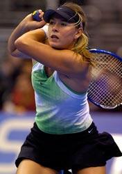 Maria Sharapova is a tennis superstar