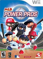 the cover of MLB Power Pros