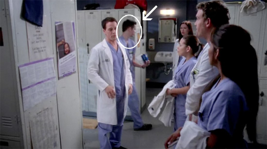 Mt brother was an extra on Grey's Anatomy