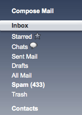 gmail spam